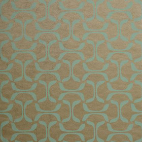 Thibaut Saroka Aqua on Metallic Pewter T35104