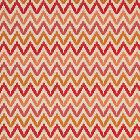 Thibaut Sausalito Woven Orange and Pink W75724