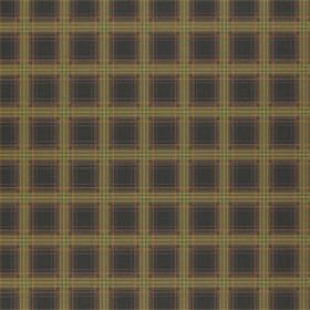 Thibaut Scottish Plaid Black T6359