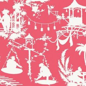 Thibaut South Sea Pink T16023