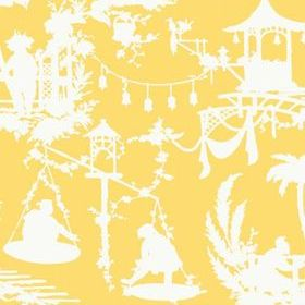 Thibaut South Sea Yellow T16024