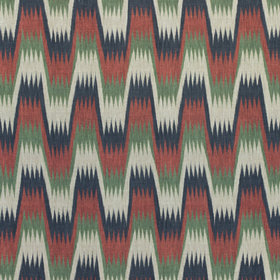 Thibaut Stockholm Chevron Navy-Red F910242