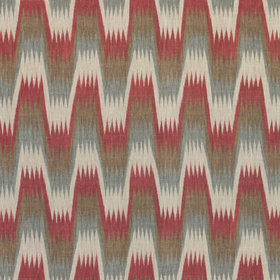 Thibaut Stockholm Chevron Red-Grey F910243