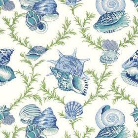 Thibaut Sumba Shell Blue and Green T5747