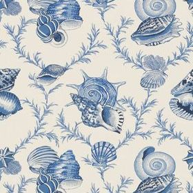 Thibaut Sumba Shell Blue on Natural T5744