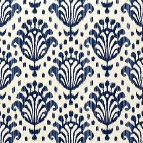 Thibaut Thai Ikat Navy on Off White T4948