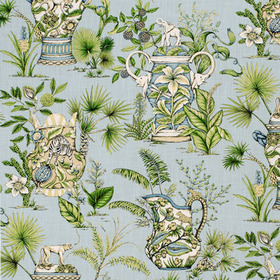 Thibaut Tropical Fantasy Blue F95767