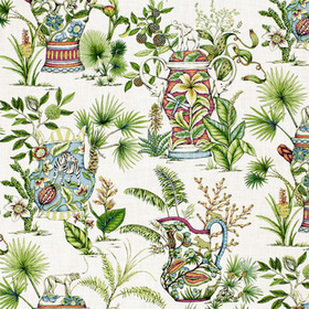 Thibaut Tropical Fantasy Cream F95768