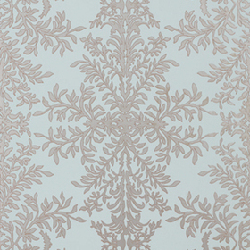 Thibaut Verre Eglomise Metallic on Aqua 839T774