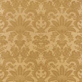 Thibaut West Indies Damask Metallic Gold-Camel T3630