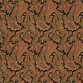 Thibaut Winchester Paisley Black T3358