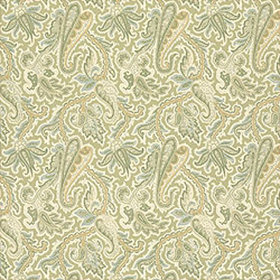 Thibaut Winchester Paisley Green and Aqua T3355