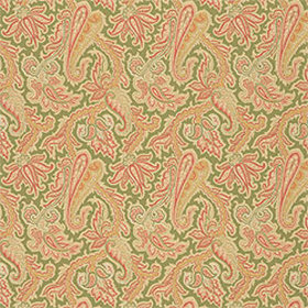 Thibaut Winchester Paisley Green T3360