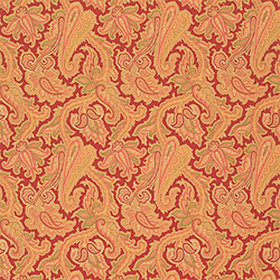 Thibaut Winchester Paisley Red T3356