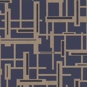 Today Interiors Composition Smoke Blue-Gold 290249
