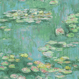 Today Interiors Water Lilies Mural FI71800M