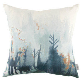 Villa Nova Forest Cushion Indigo VNC3260-01