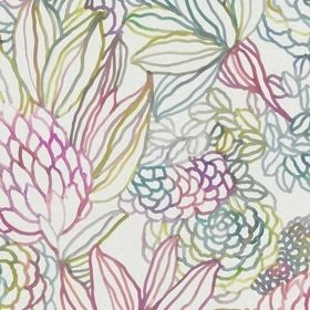 Voyage Althorp Sorbet Linen Fabric