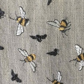 Voyage Bumble Bee Birch Fabric