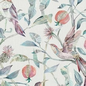 Voyage Colyford Loganberry Fabric