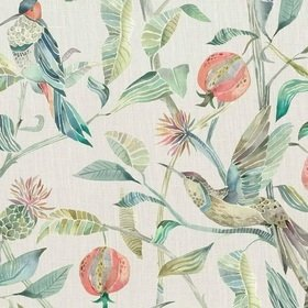 Voyage Colyford Pomegranate Fabric