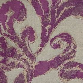 Voyage Emington Grape Fabric