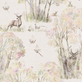 Voyage Enchanted Forest Linen Wallart