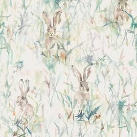 Voyage Jack Rabbit Cream Wallart