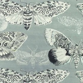 Voyage Nocturnal Duck Egg Fabric