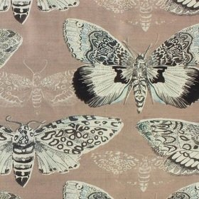Voyage Nocturnal Taupe Fabric
