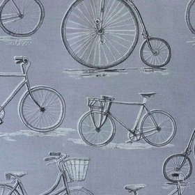 Voyage Penny Farthing Antique Fabric