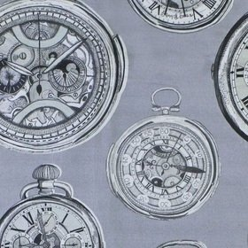 Voyage Pocket Watch Antique Fabric