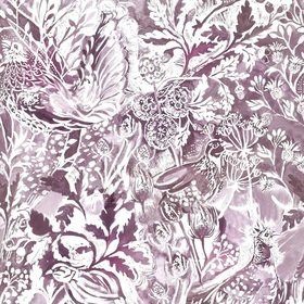 Voyage Rothesay Damson Fabric