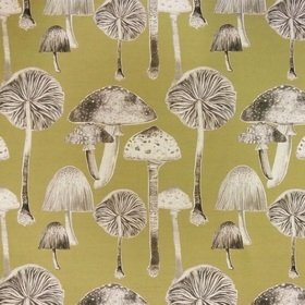 Voyage Toadstools Meadow Fabric