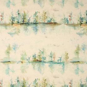 Voyage Wilderness Linen Topaz Fabric