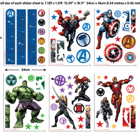 Walltastic Marvel Avengers Assemble 43138