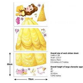 Disney Princess Belle Sticker Sheets 44357