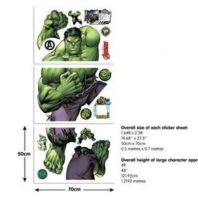 Hulk Sticker Sheets 44289