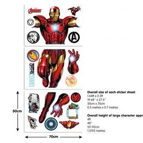 Iron Man Sticker Sheets 44296