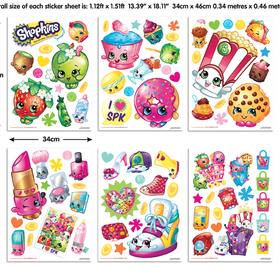 Walltastic Shopkins 44227