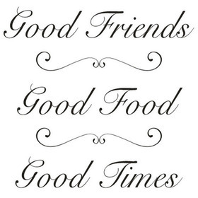Wall Word Designs Good Friends 1079