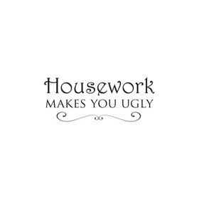 Wall Word Designs Housework 1093