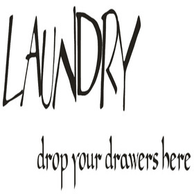 Wall Word Designs Laundry 1009