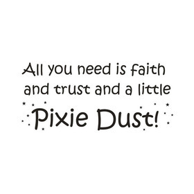 Wall Word Designs Pixie Dust 1065
