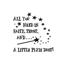 Wall Word Designs Pixie Dust 1109