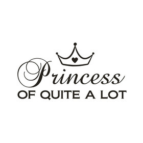 Wall Word Designs Princess of quite a Lot 1052