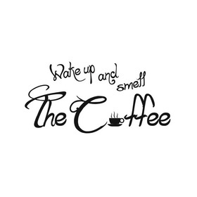 Wall Word Designs Smell the Coffee 1103