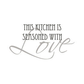 Wall Word Designs This kitchen is Seasoned 1046