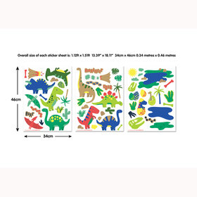 Walltastic Dinosaur Wall Stickers 45026