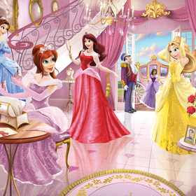 Fairy Princess Mural 43183